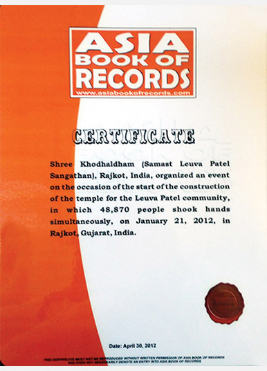 Asia Book of World Records- 2012