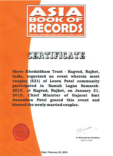 Asia Book of World Records- 2015